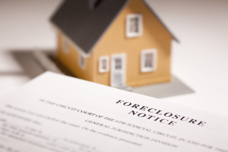 Increased Foreclosure Starts Loom
